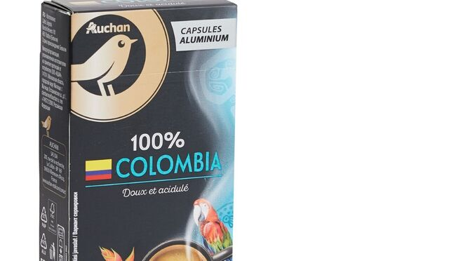 Alcampo retira el plástico de las cápsulas de café de su marca propia
