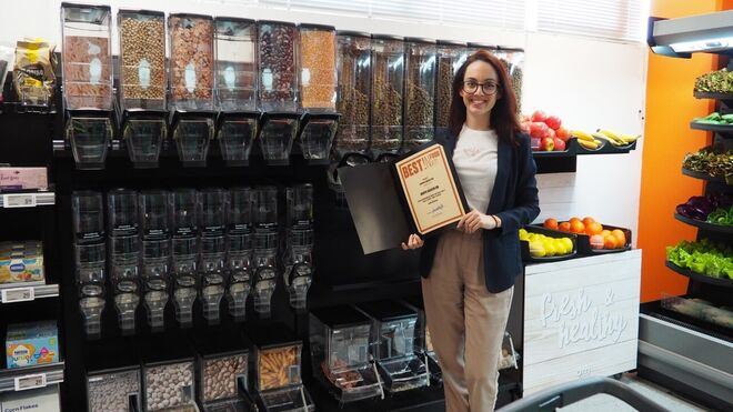 Araven, premiada por su dispensador a granel sostenible