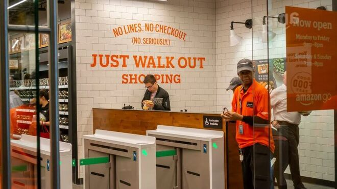 Amazon amplía la tecnología Just Walk Out en sus supermercados
