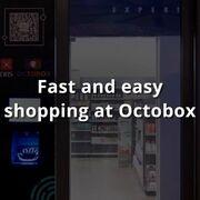 Octobox, el supermercado inteligente donde se paga con la palma de la mano