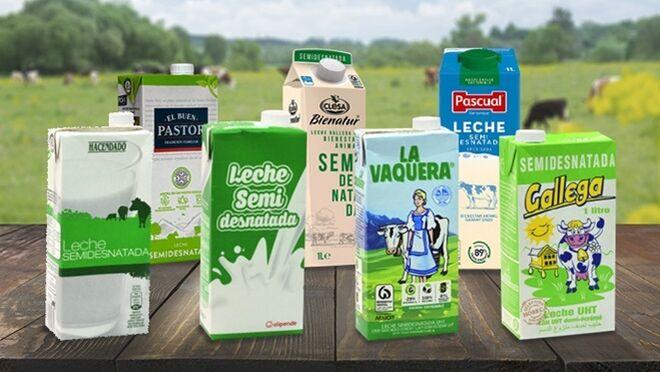La OCU clasifica las mejores las leches semidesnatadas del supermercado