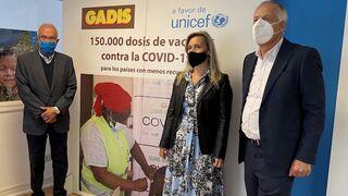 Gadis se alía para enviar 150.000 vacunas a países con pocos recursos