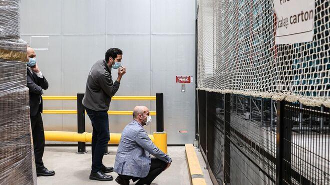 La plataforma logística robótica de Carrefour en Plessis-Pâté
