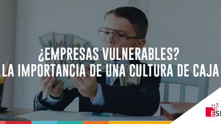 ¿Empresas vulnerables? La importancia de una Cultura de Caja