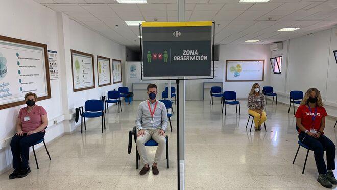 Carrefour comienza a vacunar a sus trabajadores