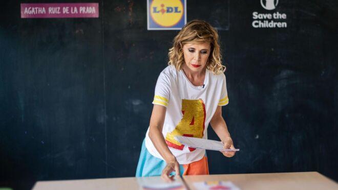 Agatha Ruiz de la Prada diseña las nuevas bolsas de Lidl