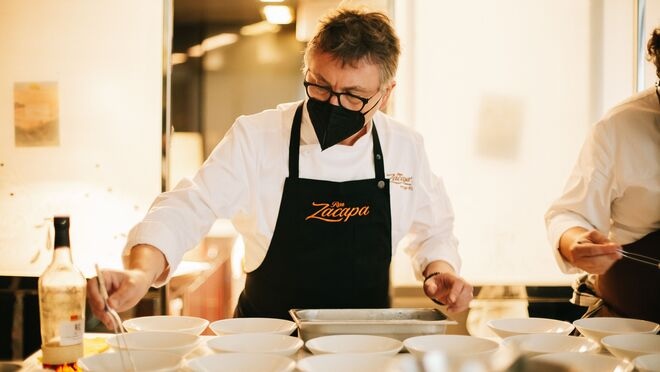Ron Zacapa y el restaurante Mugaritz se alían en una experiencia gastronómica