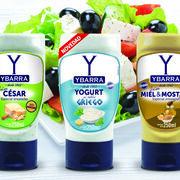 Ybarra presenta su nueva salsa de Yogurt al estilo Griego para ensaladas