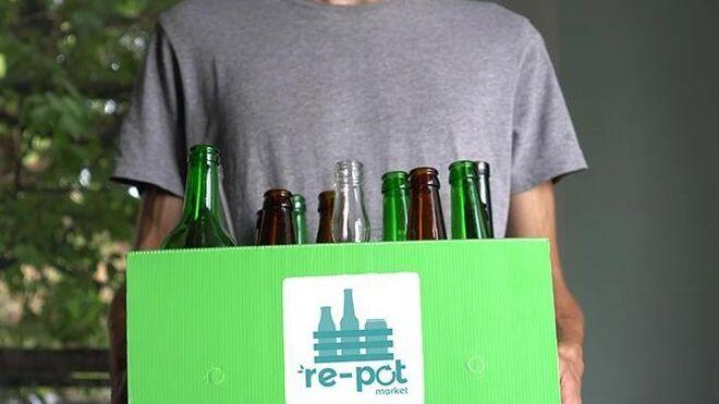 Así funciona Re-pot market, el supermercado online sin plásticos