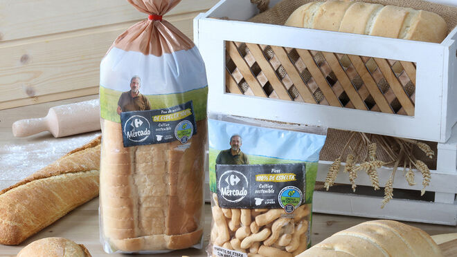 Carrefour lanza la primera gama de panes 100% espelta