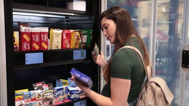 Q Take and Go: el supermercado robótico donde pagas con tu huella digital