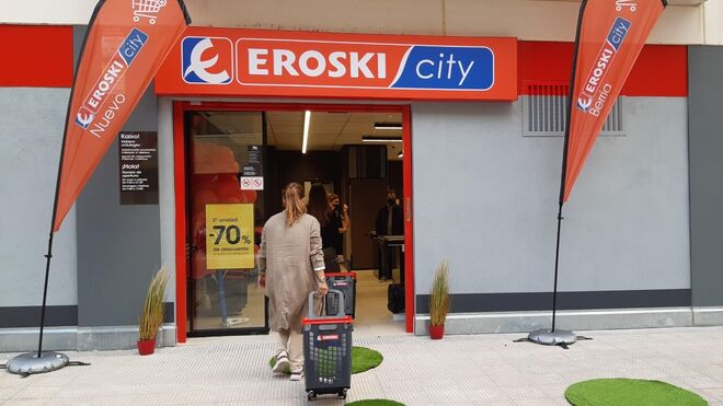 Eroski se refuerza en Navarra con un nuevo supermercado en Berriozar