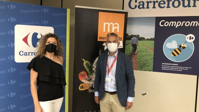 Carrefour y Mercalicante firman un convenio de formación en materia alimentaria