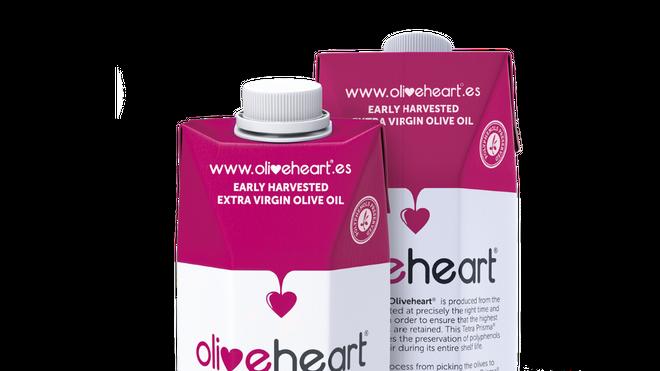 Oliveheart ya comercializa en España sus aceites en envase de cartón