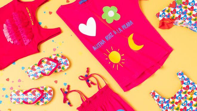 Carrefour lanza una colección infantil de baño diseñada por Ágatha Ruiz de la Prada