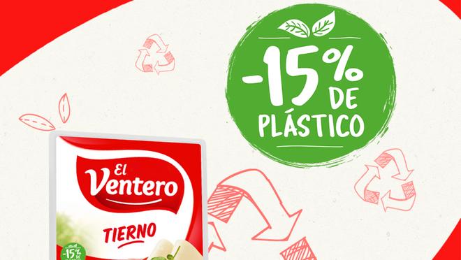 El Ventero reduce la cantidad de plástico en sus envases