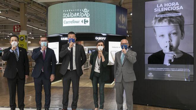 Carrefour España implanta 'La Hora Silenciosa' en sus centros para personas con autismo e hipersensibilidad