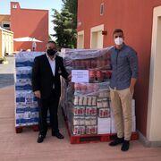 Mercadona dona 4 toneladas de productos de primera necesidad a Mensajeros de la Paz