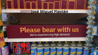 La 'pingdemia' y la logística en el Reino Unido ponen en riesgo el stock de los supermercados