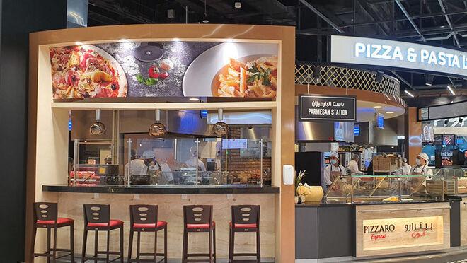 Diseño de street market y cocina en vivo: así es el híper de Sharjah Coop en Emiratos Árabes