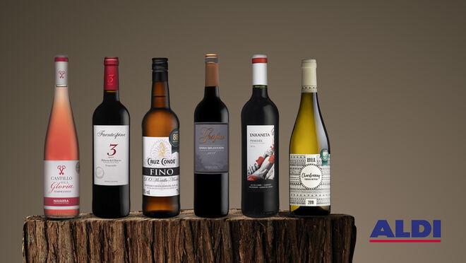Aldi incrementa su apuesta por el vino de origen español