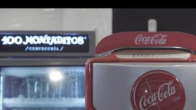 Coca-Cola y Restalia estrenan un nuevo sistema de dispensación de bebidas