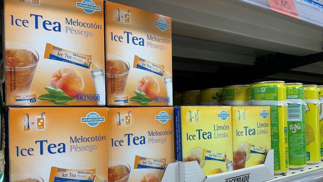 Mercadona vende más de 6.400 unidades de tés solubles al día