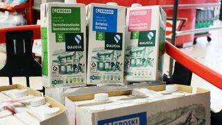 Vegalsa-Eroski sube 2 céntimos el precio de la leche