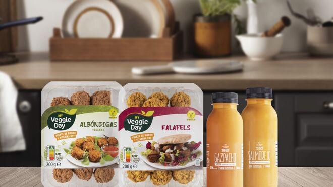 Aldi incorpora opciones veganas a sus platos preparados