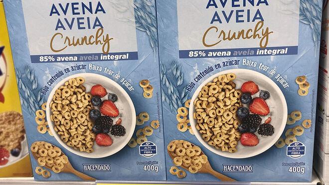 Mercadona triunfa con sus nuevos cereales crujientes de avena