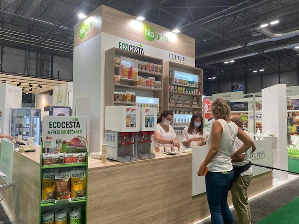 Biogran en Organic Food Iberia 2021