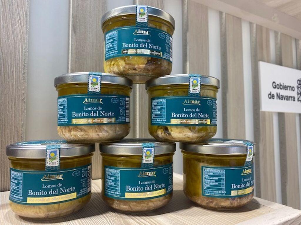 Bonito del Norte con aceite de oliva ecológico Aimar, la novedad de Conservas Medrano