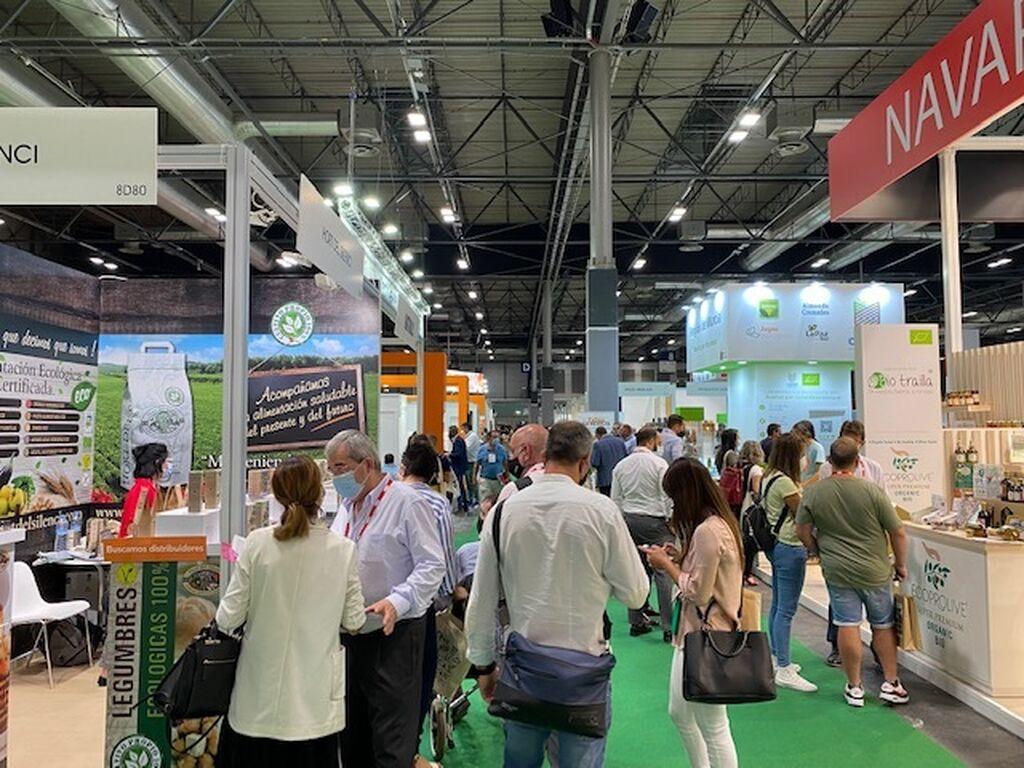 Buena afluencia de público en Organic Food Iberia 2021