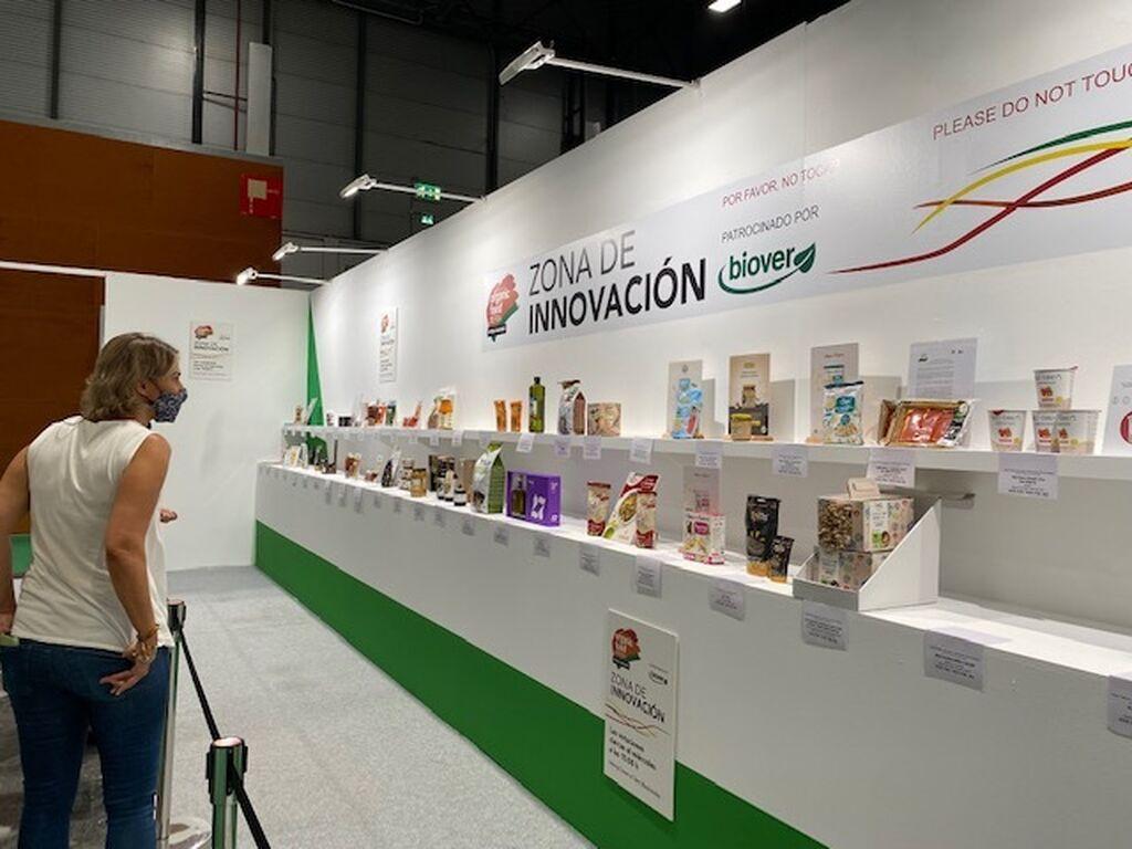 Detalle de la zona de innovación de Organic Food Iberia 2021