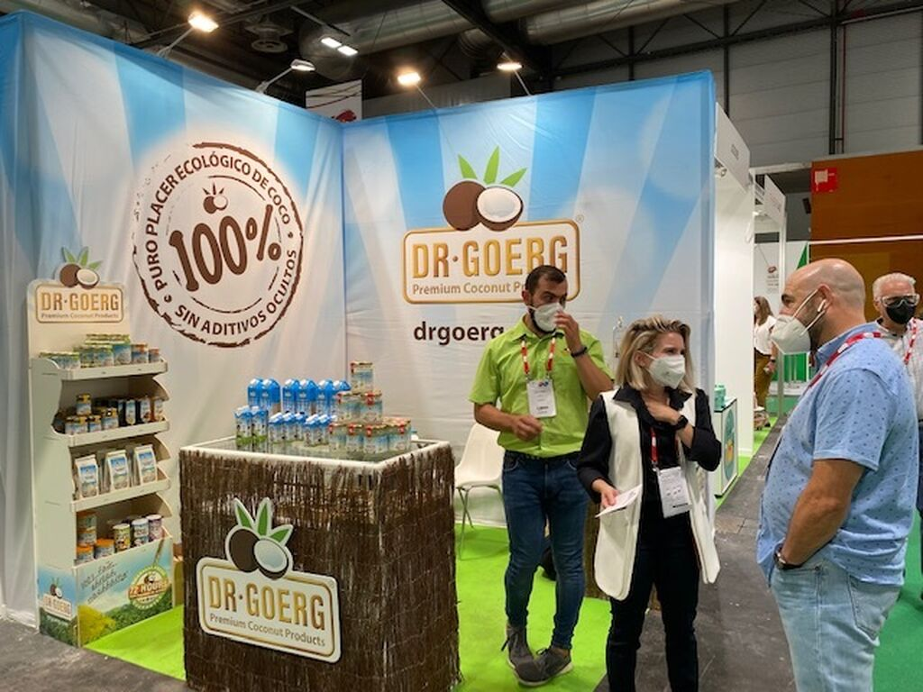 Dr Goerg en Organic Food Iberia 2021