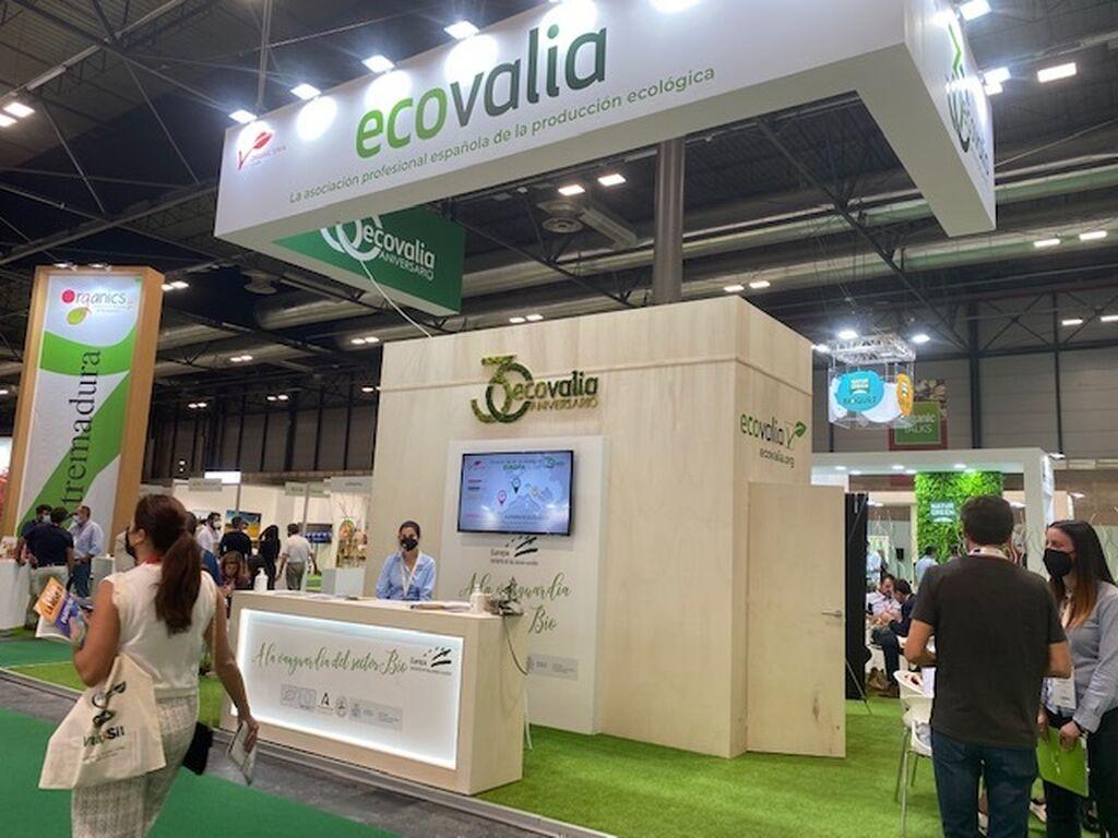 Ecovalia, la asociación española de la producción ecológica, en Organic Food Iberia 2021
