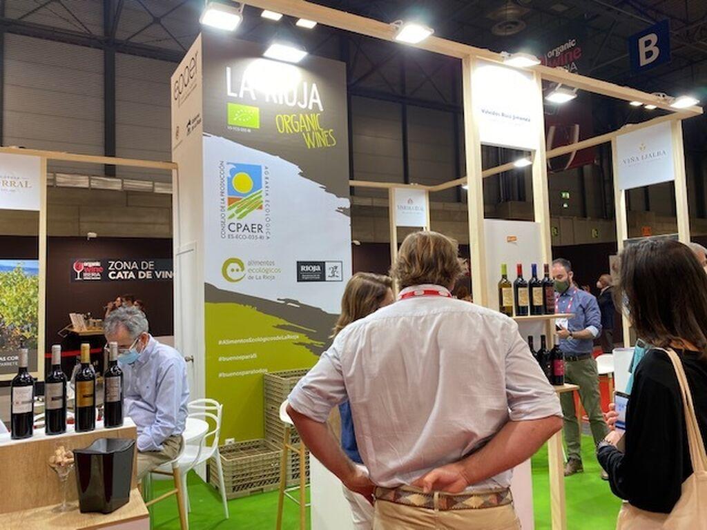 La Rioja, presente con sus vinos ecológicos en Organic Food Iberia 2021