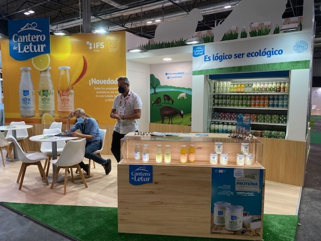 Stand de Cantero de Letur en Organic Food Iberia 2021