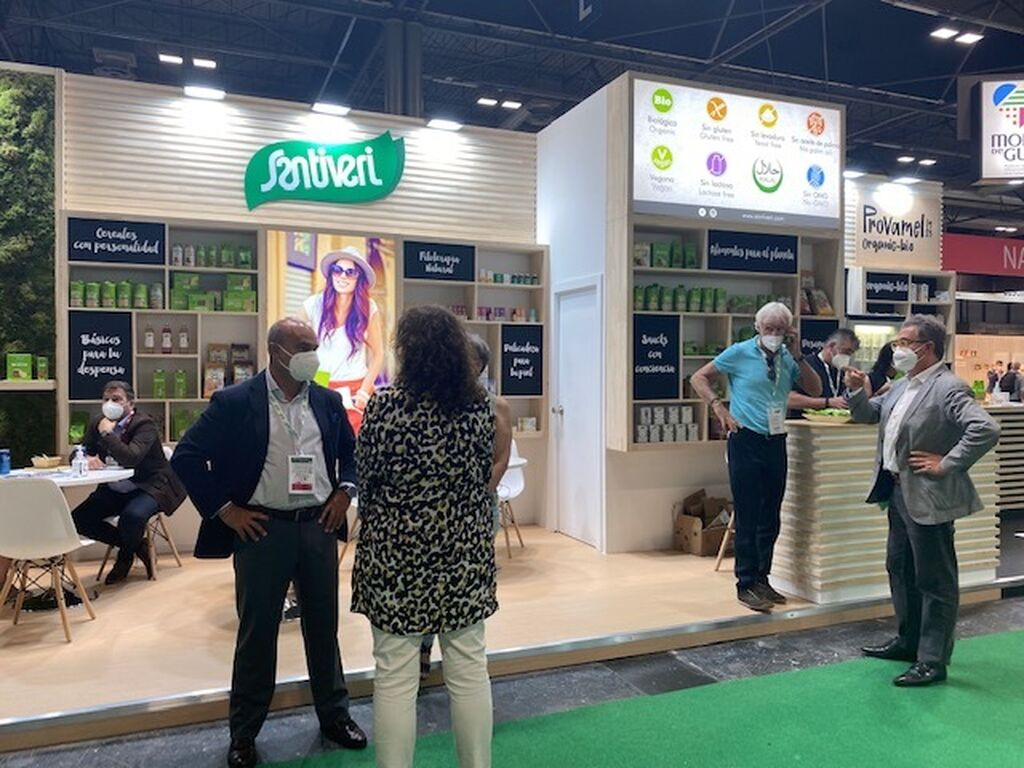 Stand de Santivery en Organic Food Iberia 2021