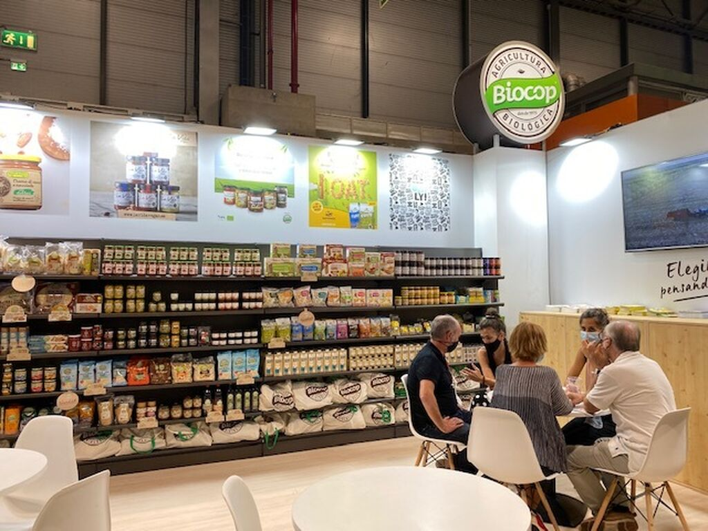La agricultura biológica de Biocop en Organic Food Iberia 2021