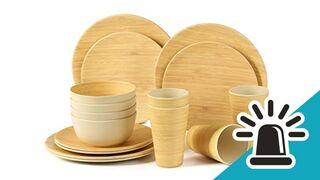 La OCU alerta de los peligros de los cubiertos de plástico con bambú para uso alimentario