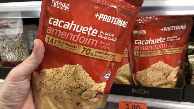 Mercadona lanza su nuevo cacahuete en polvo desgrasado