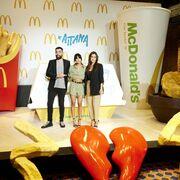 McDonald's presenta el menú Aitana con los platos favoritos de la cantante