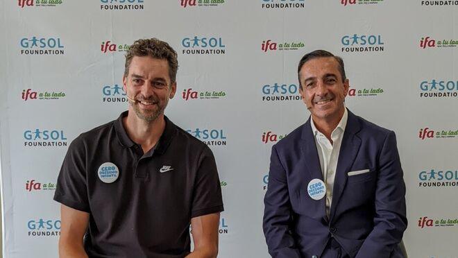 La Fundación Gasol e IFA renuevan su alianza por la salud infantil