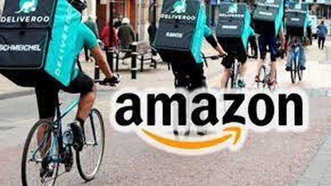 Deliveroo: entregas gratis con Amazon Prime