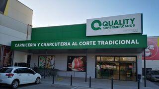 Fachada del nuevo supermercado Quality en Novelda ( Alicante)