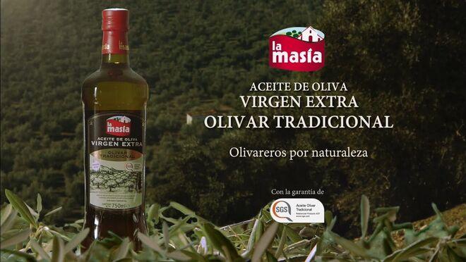 Nuevo lanzamiento La Masía: Aceite de Oliva Virgen Extra Olivar Tradicional