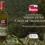 La Masía presenta su nuevo Aceite de Oliva Virgen Extra Olivar Tradicional