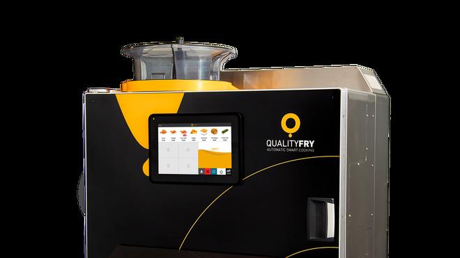 QualityFry presenta su nuevo modelo  iQ 1000 Carrousel, con mayor capacidad de producción y personalizable