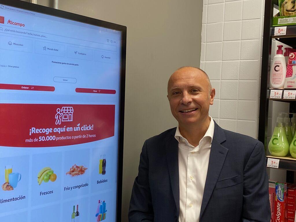 Antonio Valverde, director de Proximidad Digital de Alcampo.
